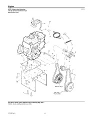 Murray Walk Behind 1695539 Snow Blower Parts Manual