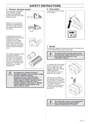 Husqvarna 40 45 Chainsaw Owners Manual, 1999