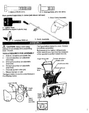 Craftsman 536.886141 22 inch Snow Blower Owners Manual
