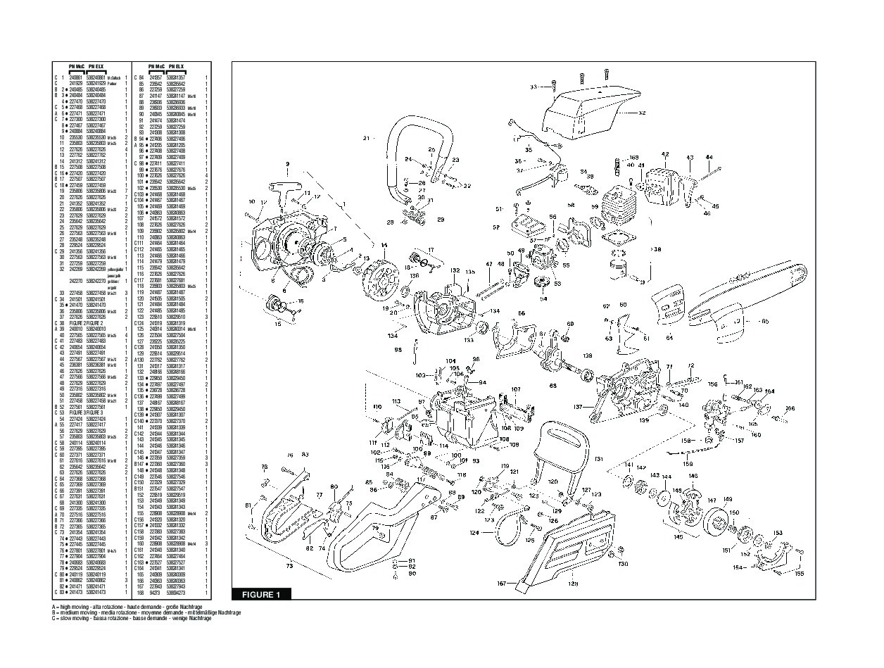 mcculloch 610 parts diagram product wiring diagrams u2022 rh wiringdiagramapp today McCulloch 610 Chainsaw Manual PDF McCulloch PM 610 Chainsaw Parts