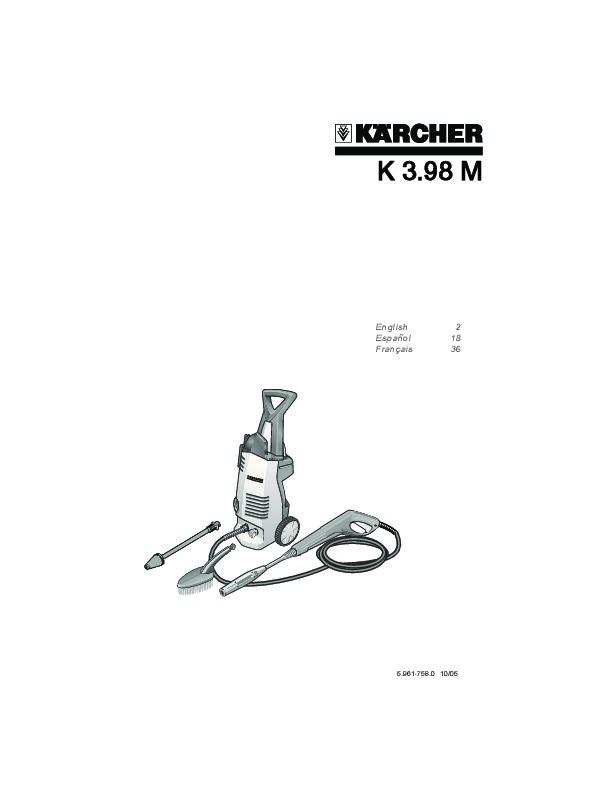 Kärcher K 3.98 M Electric Power High Pressure Washer