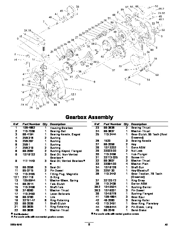 Toro 04030 Greensmaster Flex 18 Lawn Mower Parts Catalog, 2008