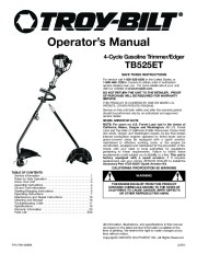 MTD Lawn Mower Manuals