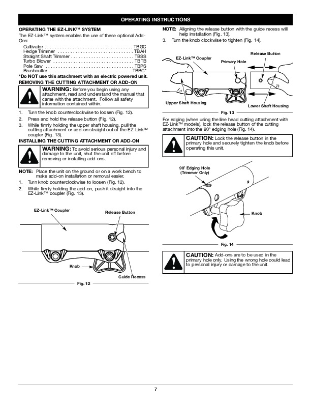 MTD Troy-Bilt TB525ET Trimmer Lawn Mower Owners Manual
