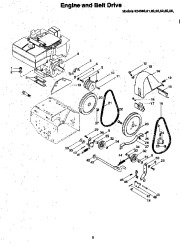 Ariens Sno Thro 924 Series Snow Blower Parts Manual