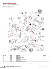 Toro RIDING Greensmaster 3 3000 3100 Series TRACTION UNIT
