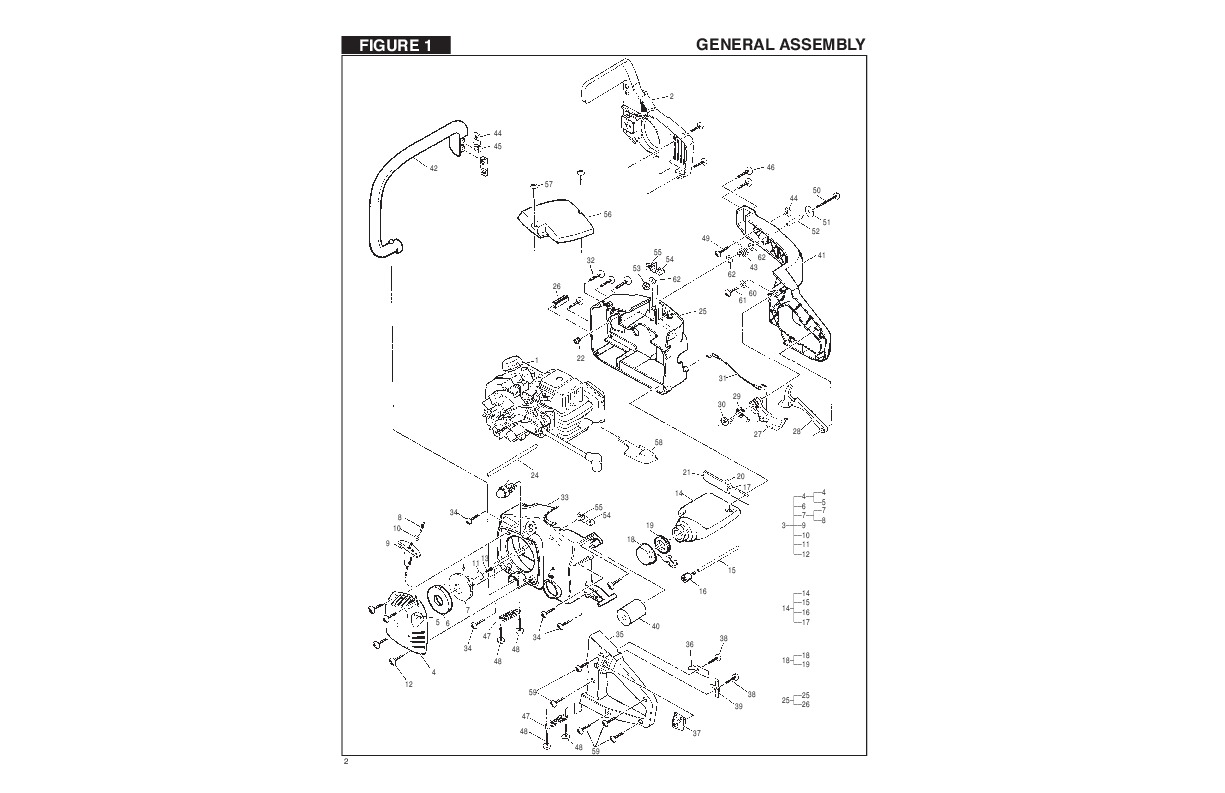 eager beaver chainsaw parts diagram kenwood touch screen car stereo wiring mcculloch 2 auto
