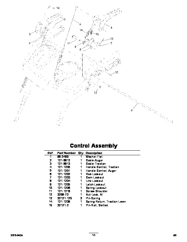 Toro 37770 Power Max 724 OE Snowblower Parts Catalog, 2014