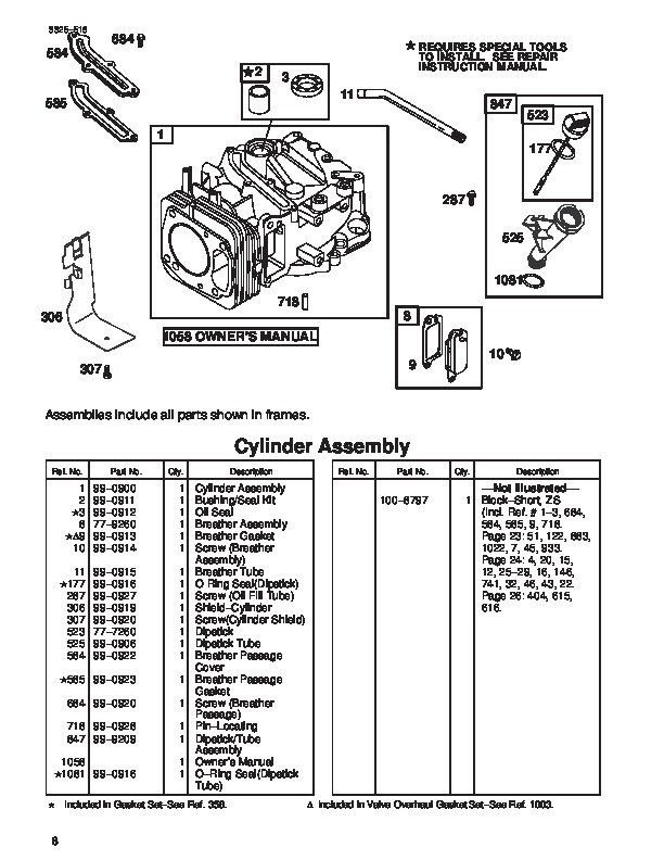 Toro 20040 21-Inch Super Recycler SR 21OS Lawn Mower Parts