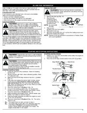 MTD Troy-Bilt TB525CS TB575SS Trimmer Lawn Mower Owners Manual