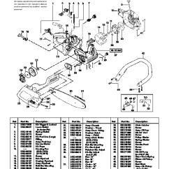 Poulan 2150 Chainsaw Fuel Line Diagram 1999 Ford F150 Ac Wiring Saw Parts Chain ~ Elsavadorla