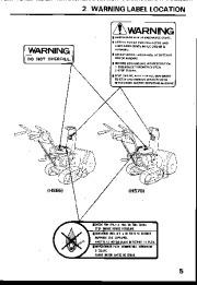 Honda HS55 HS70 Snow Blower Owners Manual