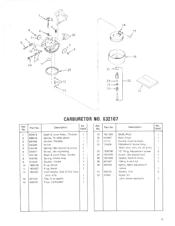 Toro 38052 521 Snowblower Manual, 1984