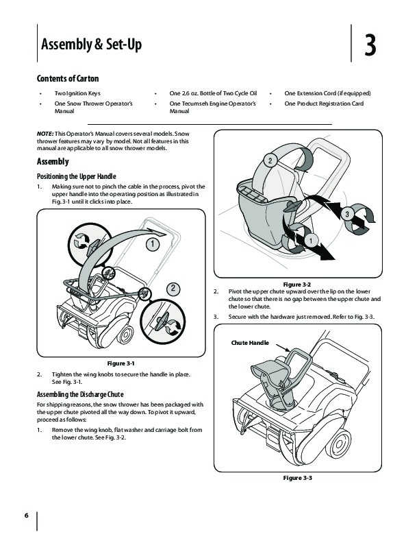 MTD 769-01283C Snow Blower Owners Manual
