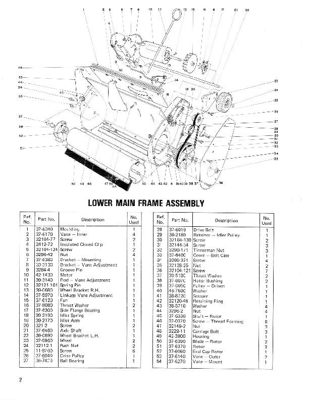 Toro 38000 S-120 Snowblower Manual, 1981-1984