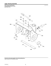 Murray Walk Behind 1695719 Snow Blower Parts Manual