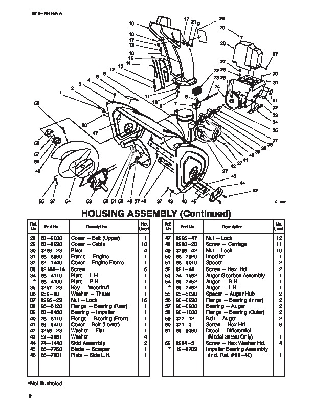 Tecumseh Snow King Snowblower Manual