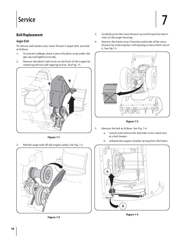 MTD 600 Series L Style Snow Blower Owners Owners Manual