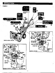 Ariens Sno Thro 932000 Series Snow Blower Owners Manual