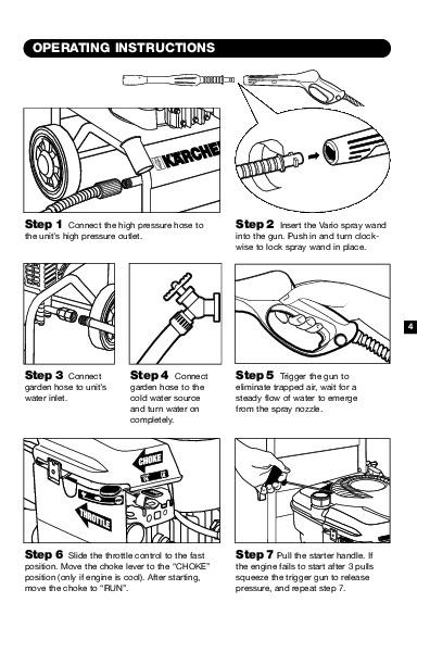 Kärcher K 4400 G Gasoline Power High Pressure Washer