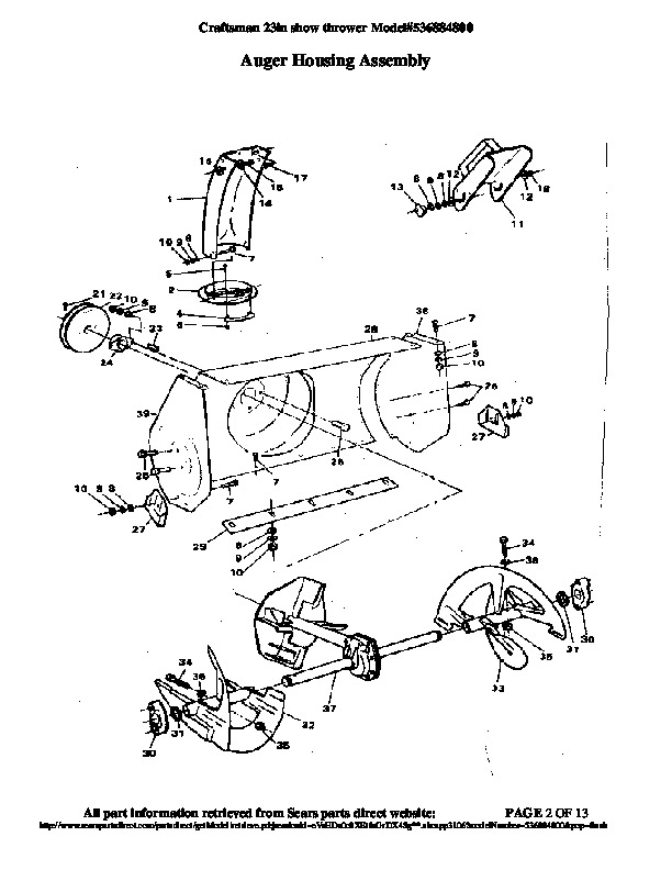 Craftsman Snowblower Manual Online Pictures to Pin on