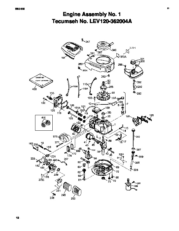 Toro 20031 22-Inch Recycler Lawn Mower Parts Catalog, 2004