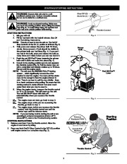 Craftsman 316.791870 2 Cycle Trimmer Lawn Mower Owners Manual