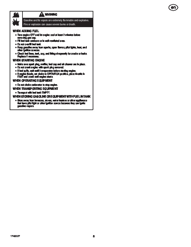 Simplicity H924RX 1695515 Snow Blower Owners Manual