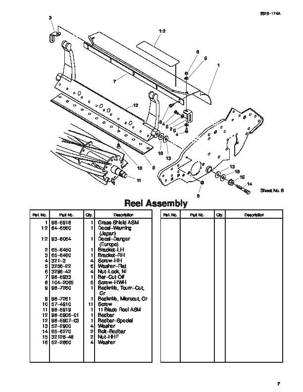 Toro 04048 Greensmaster 800 Lawn Mower Parts Catalog, 2003