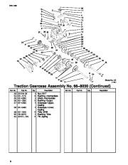 Toro 1028 Power Shift 38559 38560 Snow Blower Parts Manual