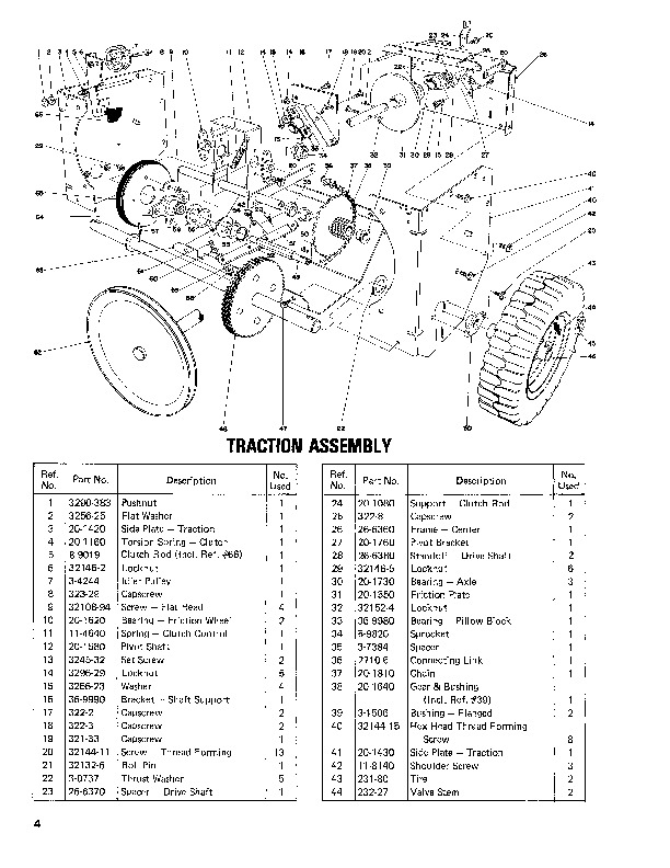 Toro 38050 724 Snowblower Manual, 1982-1983