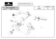 McCulloch MS1434NAV 41BY44NQ077 Chainsaw Parts List