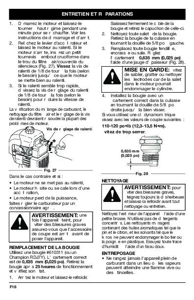 MTD Bolens BL100 BL150 Gas Trimmer Lawn Mower Owners