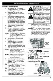 MTD Bolens BL100 BL150 Gas Trimmer Lawn Mower Owners Manual