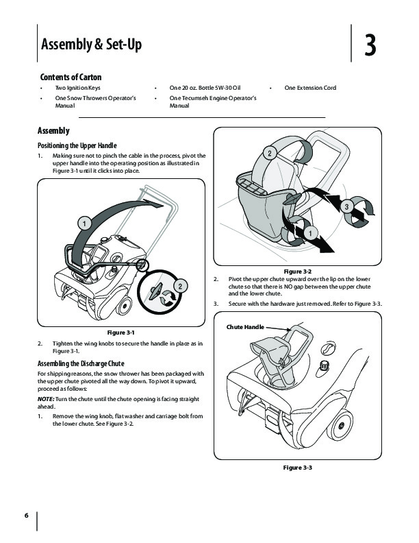 MTD Troy Bilt Squall 521 Snow Blower Owners Manual