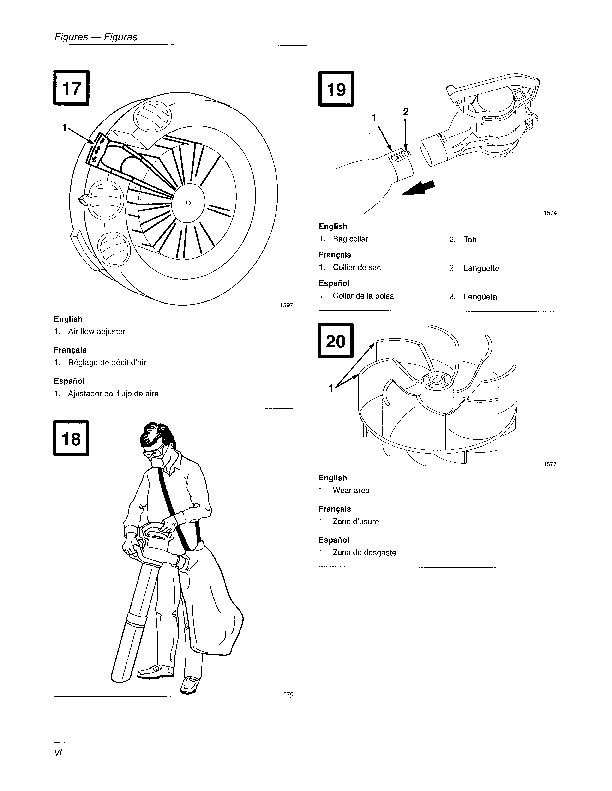 Toro 51549 Rake And Vac Blower Manual, 1997