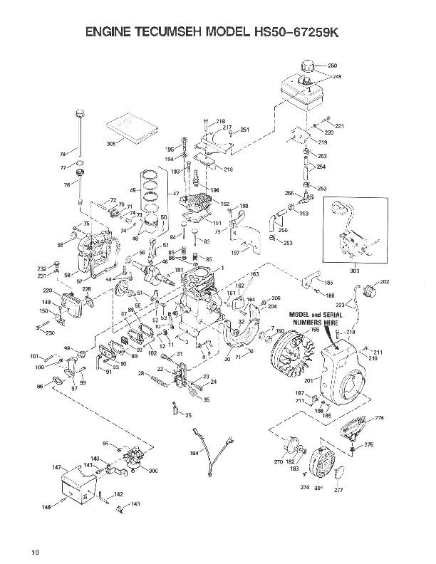 Toro 38054 521 Snowblower Parts Catalog, 1992
