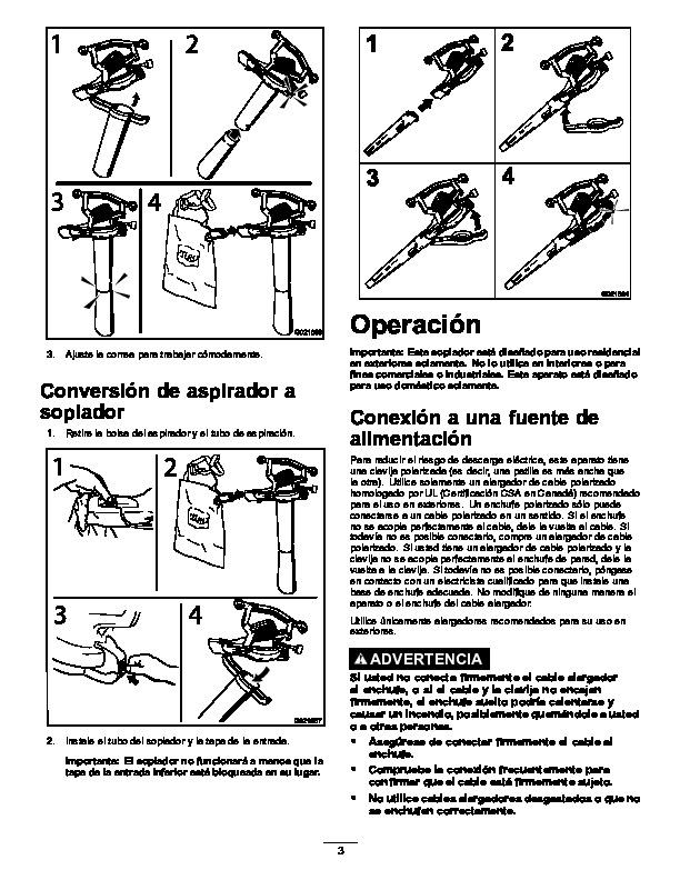 Toro 51617 Rake and Vac Blower/Vacuum Operators Manual
