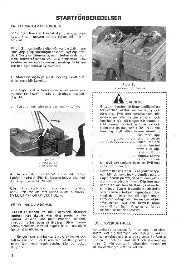 Toro 38015 421 Snowblower Manual, 1981