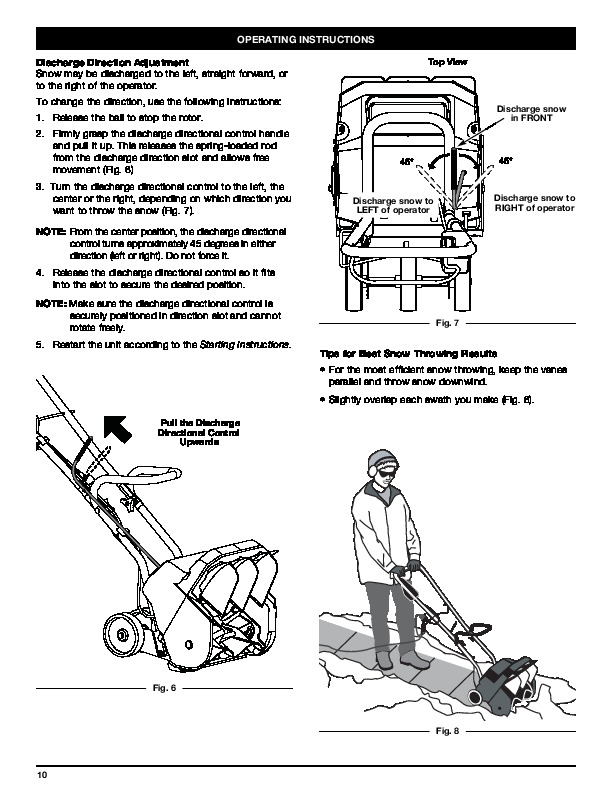 Yard-Man 769-03412 Electric Snow Blower Owners Manual by MTD