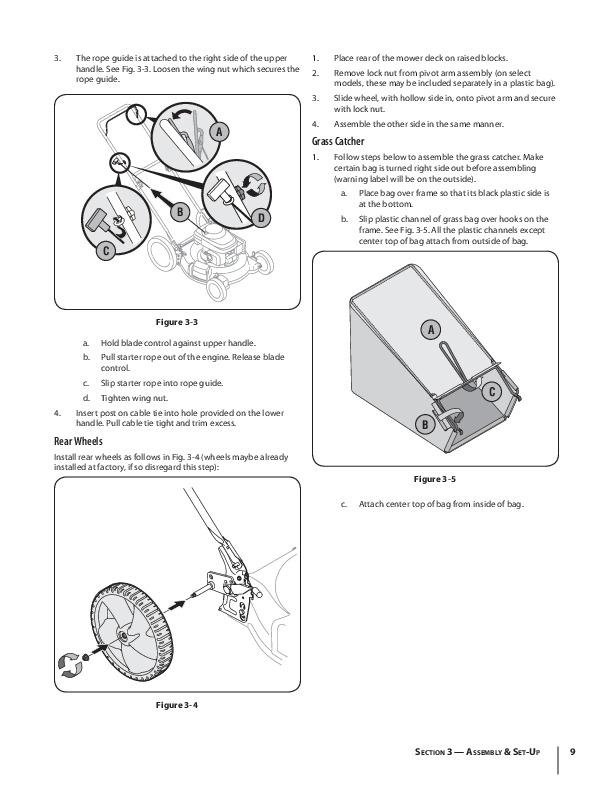 MTD 54M Series Push Lawn Mower Mower Owners Manual
