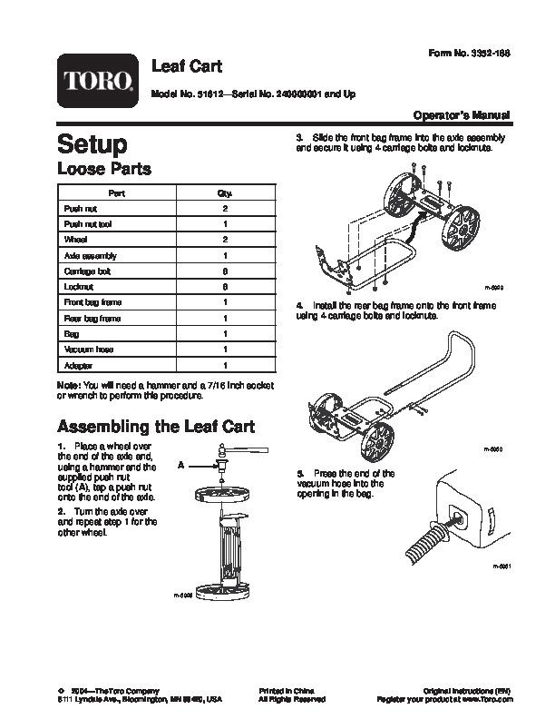 Parts Online: Toro Parts Online