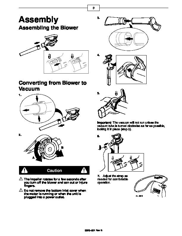 Toro 51587 Super Blower Vac Manual, 2000-2001