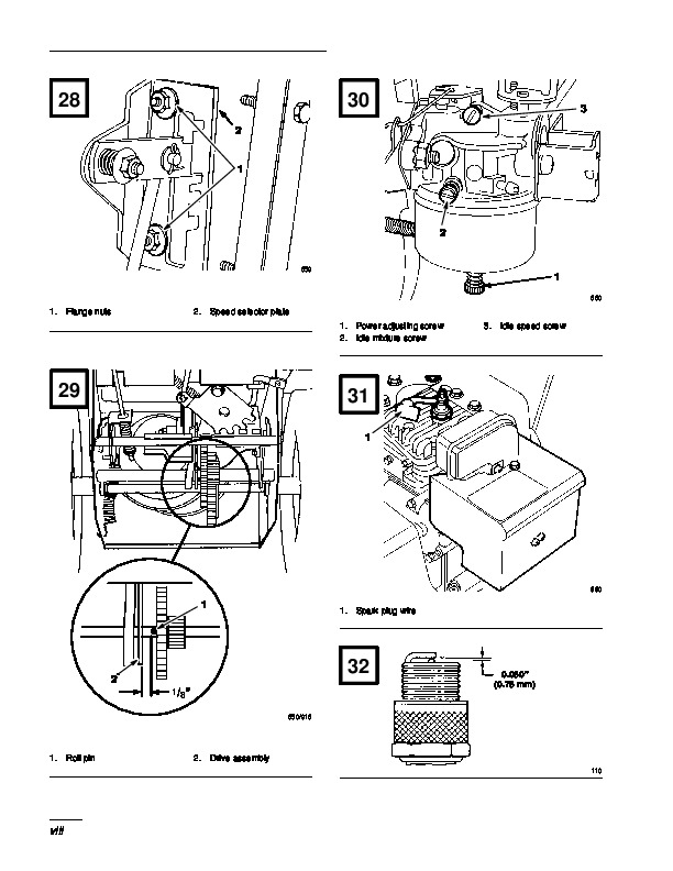 Toro 38052 521 Snowblower Operators Manual, 1996