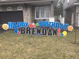 Happy 6th Birthday Brendan!