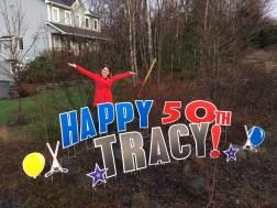 Happy 50th Tracy!