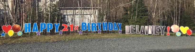 Happy 21st Birthday Delainey!