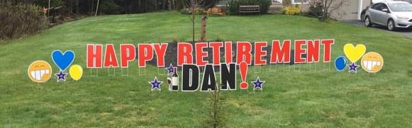 Happy Retirement Dan!