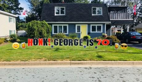 George 70