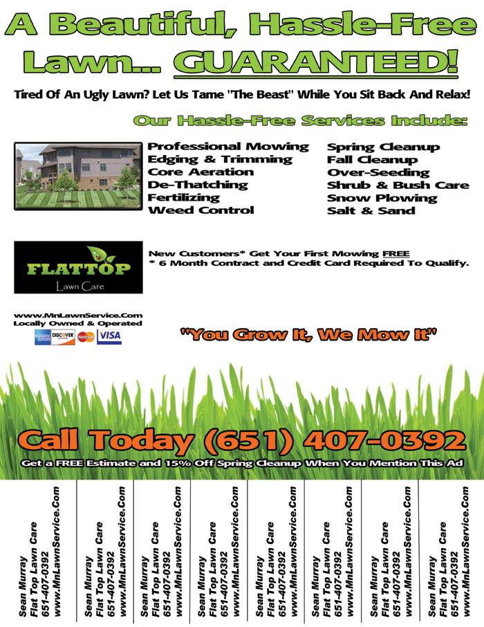 Lawn Care Business Flyer  Lawn Care Business Marketing